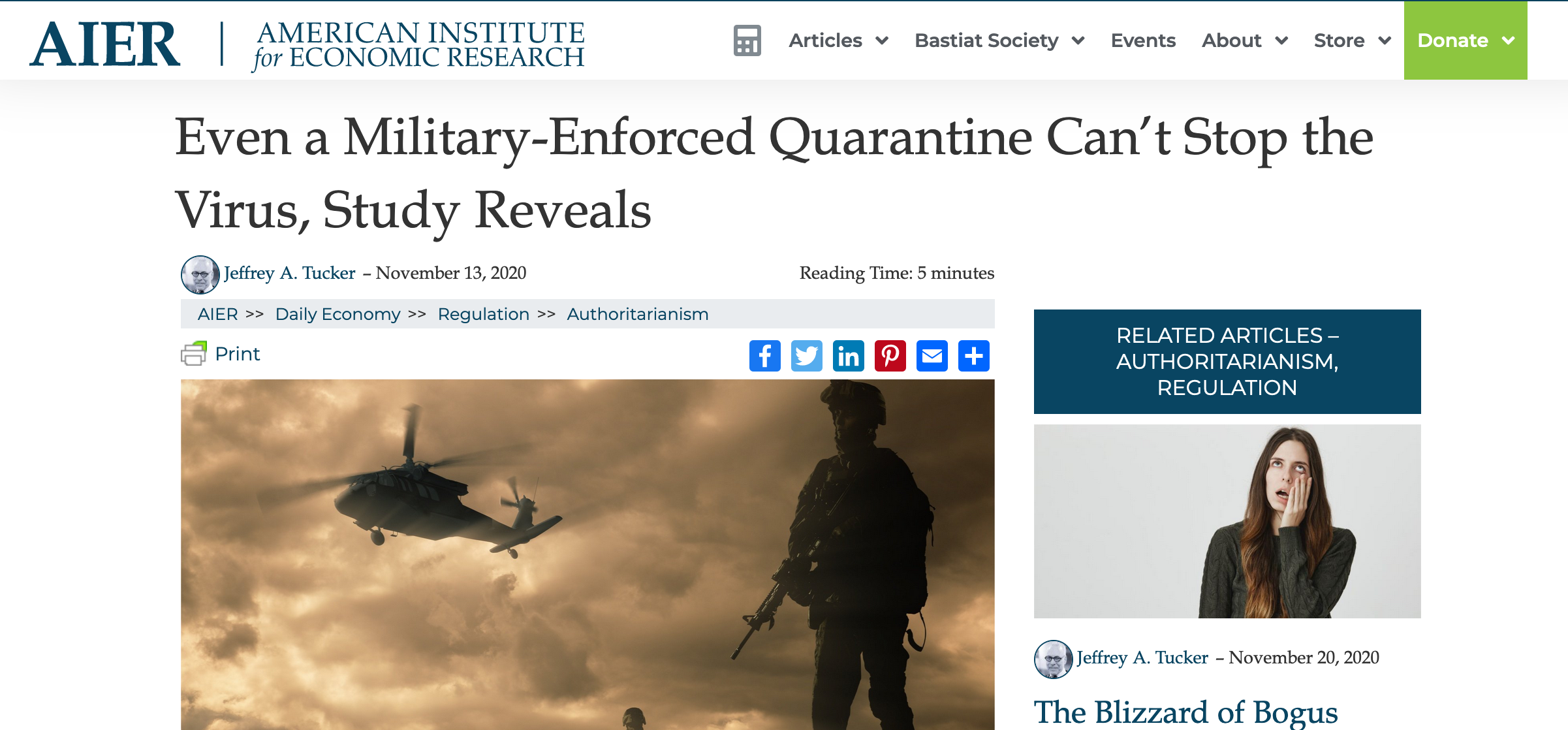 Even a Military-Enforced Quarantine Can't Stop the Virus, Study Reveals